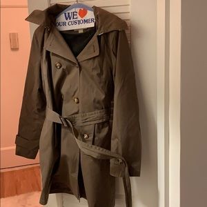 MICHAEL KORS BROWN RAINCOAT (women's)